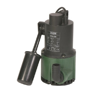 DAB-NOVA300A - PUMP SUBMERSIBLE WASTEWATER WITH FLOAT 217L/MIN 6.8M 0.22KW 240V