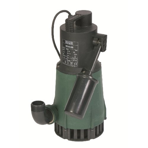 DAB-NOVA600A - PUMP SUBMERSIBLE WASTEWATER WITH FLOAT 270L/MIN 10.2M 0.55KW 240V