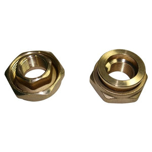 DAB-UNION3/4B - PUMP UNION CIRCULATOR 0.75 INCH (PAIR) BRASS