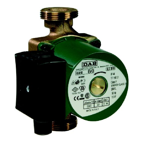 DAB-VS65-150 - PUMP CIRCULATOR DOMESTIC 60L/MIN 6M 77W 240V BRONZE BODY HOT WATER