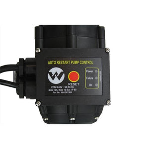WHI-SK13BA - PUMP CONTROLLER AUTOMATIC RESTART ADJUSTABLE 1.5BAR TO 3 BAR 1.1KW