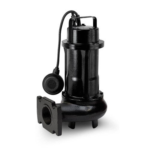 ZEN-DGE200/2/G50HMGSIC - PUMP SUBMERSIBLE DIRTY WATER DOMESTIC 600L/M 15.5M 1.5KW 240V