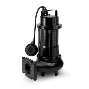 ZEN-DGE200/2/G50HTSIC - PUMP SUBMERSIBLE DIRTY WATER DOMESTIC 600L/M 15.5M 1.5KW 415V