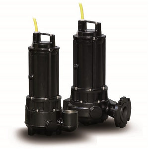 ZEN-DGN300/2/80TEX - PUMP SUBMERSIBLE IECEX DIRTY WATER INDUSTRIAL 1200L/M 10.8M 2.2KW 415