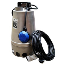 Load image into Gallery viewer, ZEN-DGSTEEL75MA - PUMP SUBMERSIBLE SLIGHTLY DIRTY WATER 360L/M 10M 0.75KW 240V