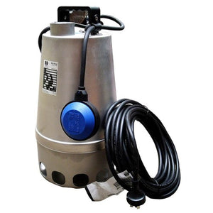 ZEN-DGSTEEL75MA - PUMP SUBMERSIBLE SLIGHTLY DIRTY WATER 360L/M 10M 0.75KW 240V