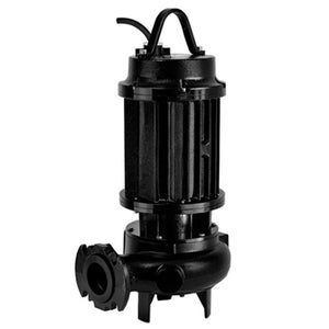 ZEN-DRP2000/2/80T - PUMP SUBMERSIBLE HEAVY SOILED WASTE WATER INDUSTRIAL 2400L/M 52.3M 19