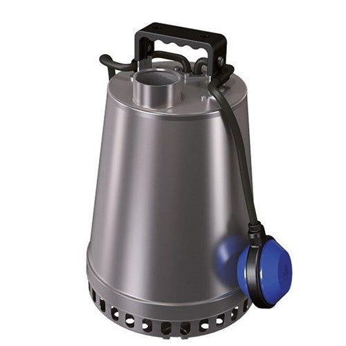 ZEN-DRSTEEL55MA - PUMP SUBMERSIBLE SLIGHTLY DIRTY WATER 300L/M 12.4M 0.55KW 240V