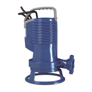 ZEN-GRBLUEP150/2/G40HMEX - PUMP SUBMERSIBLE IECEX WASTEWATER INDUSTRIAL 300L/M 21.1M 1.1KW