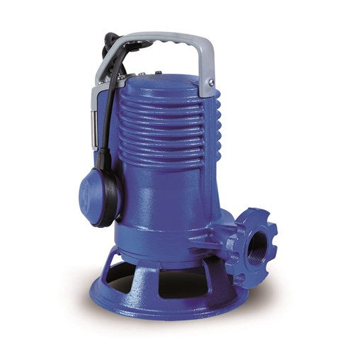 ZEN-GRBLUEP200/2/G40HMGEX - PUMP SUBMERSIBLE IECEX WASTEWATER SEWAGE INDUSTRIAL 300L/M 27M