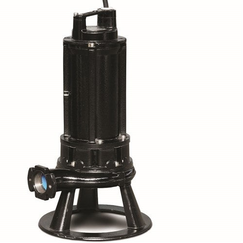 ZEN-GRP750/2/G50HT - PUMP SUBMERSIBLE WASTEWATER SEWAGE INDUSTRIAL 390L/M 54M 7.2KW 415V
