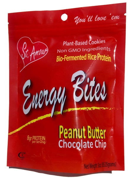 ENERGY BITES - Peanut Butter & Chocolate Chips