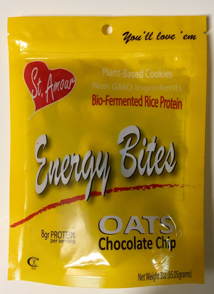 ENERGY BITES - Oats & Chocolate Chip