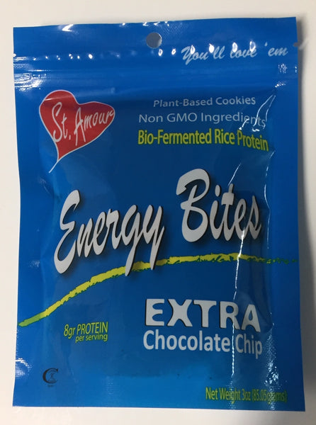 ENERGY BITES - Extra Chocolate Chip