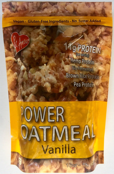 Power Oatmeal - Vanilla - Vegan - No sugar added - gluten free