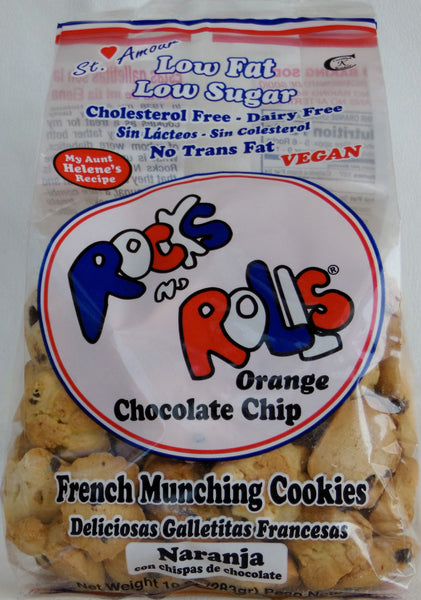 Rocks N' Rolls - Orange and Chocolate Chips - Healthy Cookies Direct