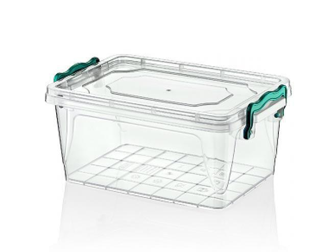 Hobby Multipurpose Kitchen Use Plastic Clear Food Storage Rectangle Box 3 Litre 021100 (Parcel Rate)