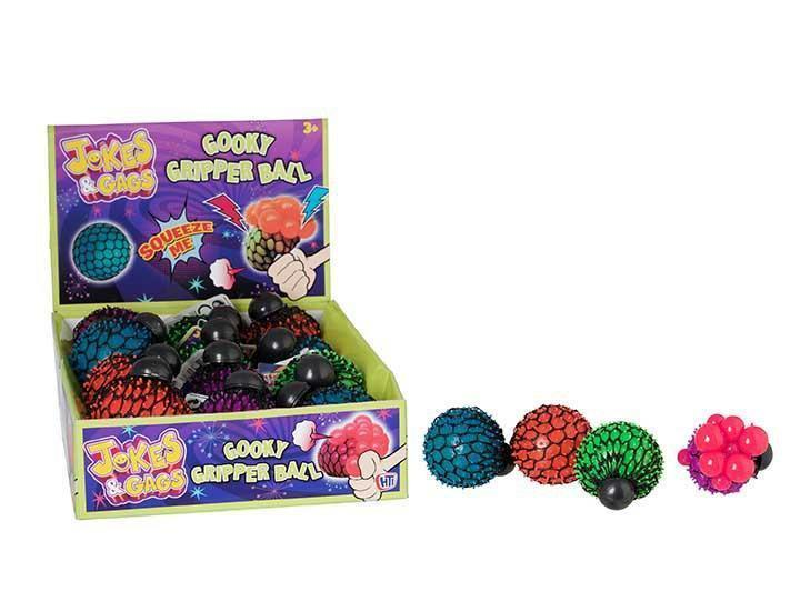 Squeeze Ball Gooky Gripper Stress Reliever Fidget Sensory Toy 4281 (Parcel Rate)