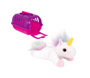 My Pet Unicorn Pet Care Case With Fluffy Unicorn Daycare Pet 1375293  (Parcel Rate)