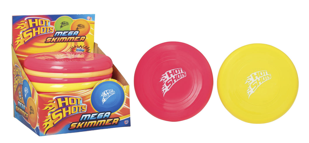 Childrens Hot Shot Mega Skimmer Outdoor Fun Yellow/Red 9941 (Parcel Rate)