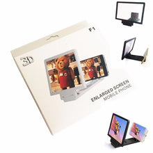 Load image into Gallery viewer, Mobile Phone 3D Video Screen Folding Enlarged Screen Magnifier Watch Movies 3483 (Parcel Rate)