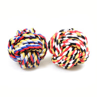 1 Pack Chewing Teething Pet Dog Rope Ball  0049