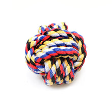 Load image into Gallery viewer, 1 Pc Chewing Teething Pet Dog Rope Ball 0049 (Parcel Rate)