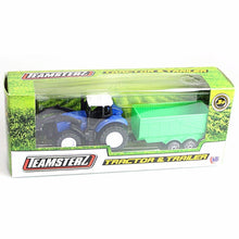 Load image into Gallery viewer, Set Of 2 Off Road Farm TRACTOR & TRAILER  0601 (Large Letter Rate)