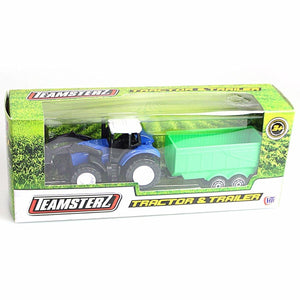 Set Of 2 Off Road Farm TRACTOR & TRAILER  0601 (Large Letter Rate)