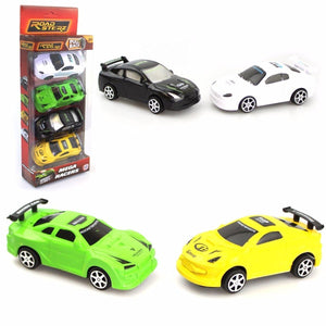 Road Sterz Set Of 4 Toy Pull Back Mega Racers (Parcel Rate)