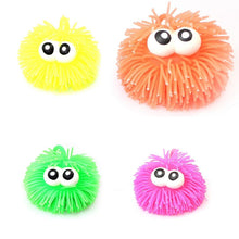 Load image into Gallery viewer, 2 x Bulging Eyes Stress PUFFER BALLS -Squidgy Ball, Squeeze, Play Sensory Toy  1496 (Parcel Rate)