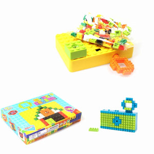 86 Pack 3 in 1 Building Block Camera DIY Build Toy Camera   4417
