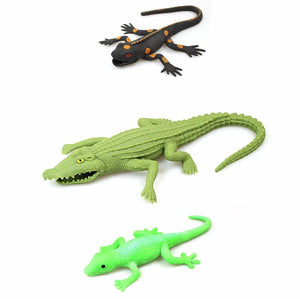 Set Of 3 Land Nature & Deep Sea Creatures Toys 10820-2306 (Parcel Rate)