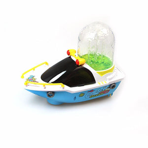 Interactive Musical Light & Sound Musical Fountain Boat Bump n Go LED Light 4126 (Parcel Rate)