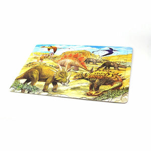 Childrens Colour Me In Dinosaur Jigsaw Puzzle Travel Party Gift Bag 0233 (Parcel Rate)