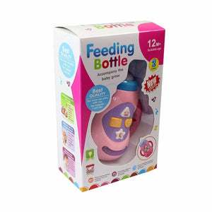 Feeding Bottle Toy Light & Sound Touch & Feel Musical Developing Sense 12m + 4554 (Parcel Rate)
