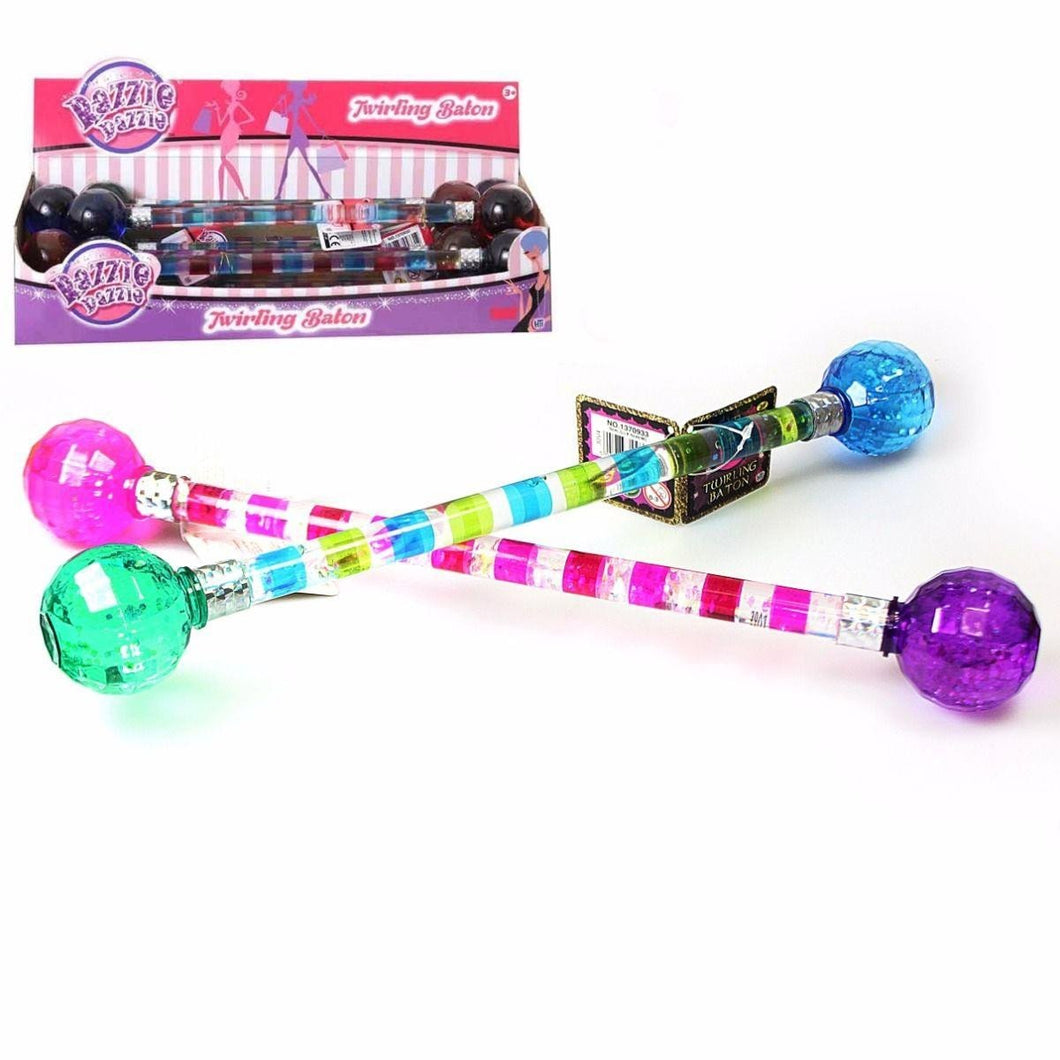 Girls Twirling Baton Fancy Sparkle Wand 1370933