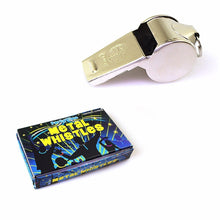 Load image into Gallery viewer, 1 x Metal Whistle Sports Team Party Bags Referee Training N04031 (Large Letter Rate)