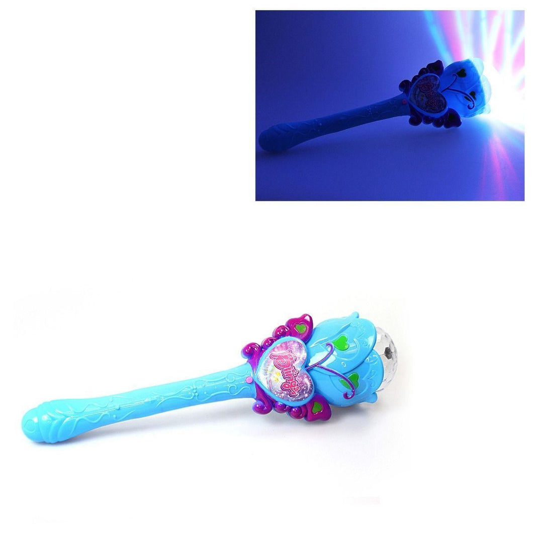 Girls Bling Light Up Fairy Princess Wand Toy Birthdays Party Bags & Celebrations 3297 (Parcel Rate)
