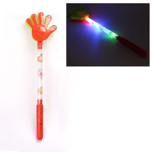 Childrens Flashing Glow LED Light Up Clap Hands Wand Party Bags Toy 4137 (Parcel Rate)