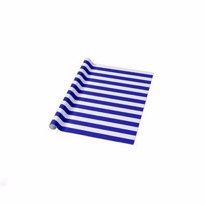 1 Roll 3m x 70cm STRIPED GIFT WRAP ROLL -Birthdays, Parties, Christmas Presents  8422 (Parcel Rate)