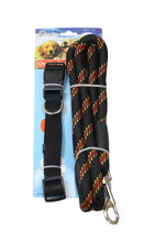 Load image into Gallery viewer, Pets Cats Dog Neck Belt Harness and Lead Assorted Colours Outdoor Fun x 1 2516 (Parcel Rate)