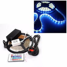 Load image into Gallery viewer, 12v LED STRIP LIGHTS REEL-IR Remote Control, Adapter, Christmas, Weddings, Party  0904