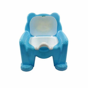 Toddlers Plastic Baby Potty Blue Baby & Toddler Potty Training 35cm x 28cm H1599 (Big Parcel Rate)