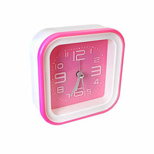 Load image into Gallery viewer, Square Block CONTEMPORARY ALARM CLOCK -Desk Clock, Bedroom, Analogue Time  2901 (Parcel Rate)