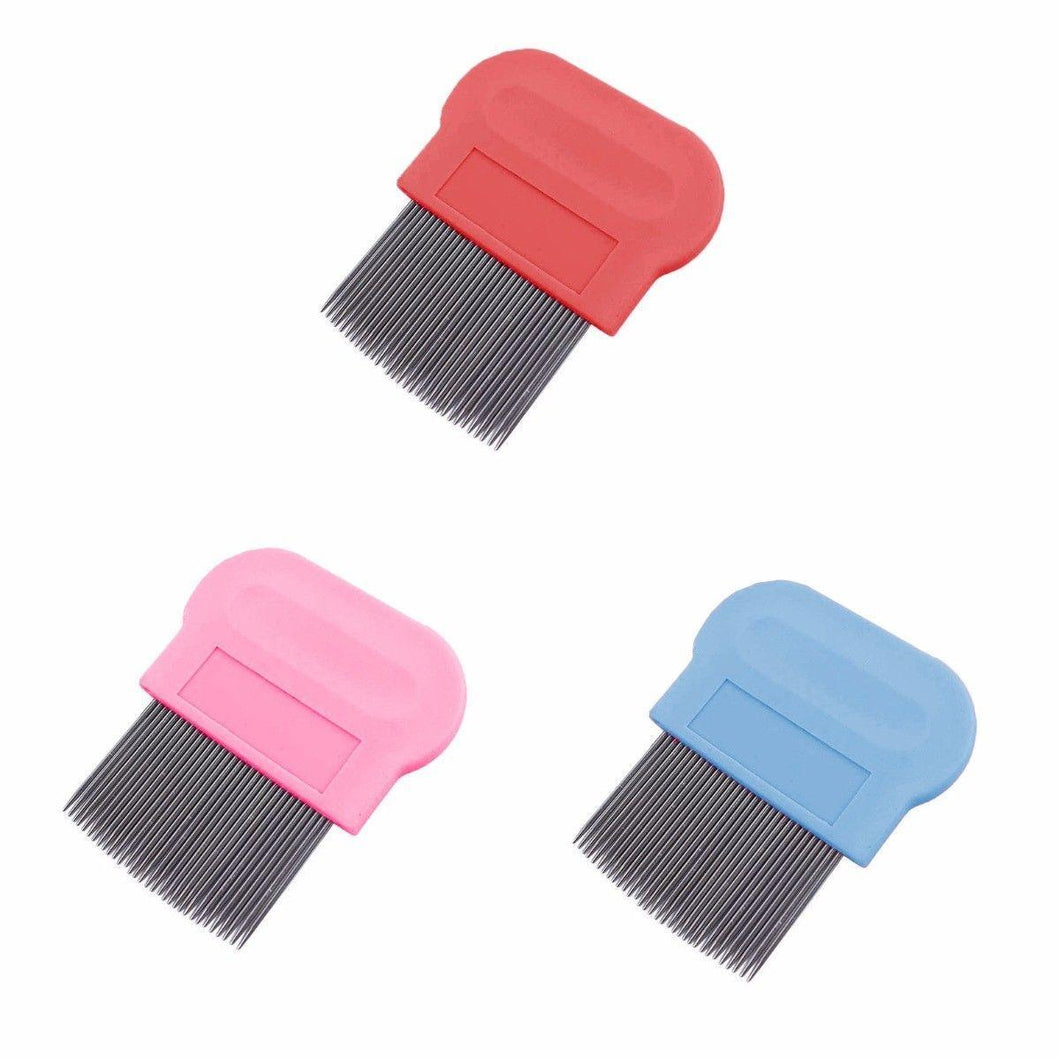 Pet Cat Dog Kitten Puppy Metal Flea Comb Hair And Fur Grooming 0064 (Large Letter Rate)