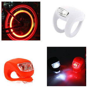 1 LED Bike Light Set Suitable For All Bikes 0529 (Large Letter Rate)