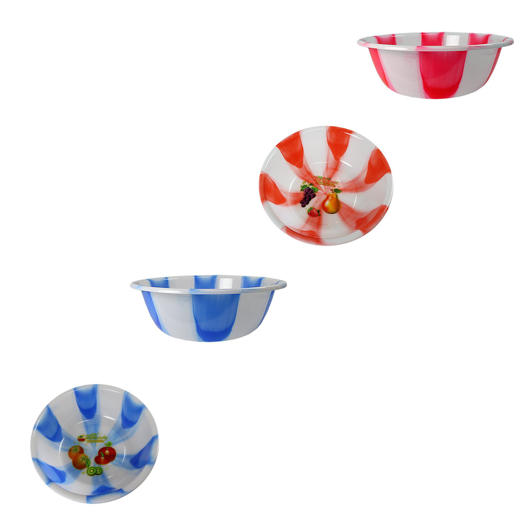 Plastic Kitchen Bowls Multipurpose Use Bowls Small Assorted Colour 3064 (Parcel Rate)