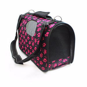 Pet Carrier Bag Travel Bag For Cats/Dogs/Small Animals Assorted Designs 47cm x 30cm 0359 (Parcel Rate)