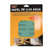 Load image into Gallery viewer, Pack Of 3 High Quality Power Sanding Sheets DIY 28cm x 23cm  4826 (Large Letter Rate)